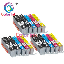 ColorInk 15Pack pgi-550 pgi 550 cli-551 XL ink cartridge PGI550 CLI551 for Canon PIXMA IP7250 MG5450 MX925 MG5550 6450 5650