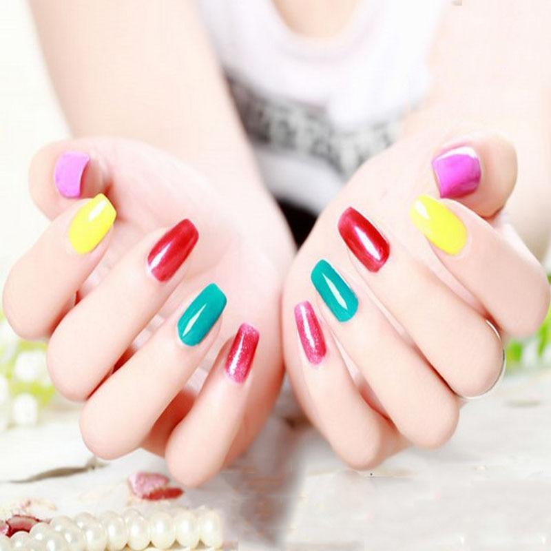 Hot 15ml Manicure Gel Nail Polish Soak Off Uv Led Meiksay Hybrid Varnishes Art Design In From Beauty Health On