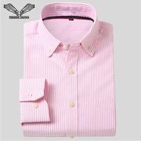 Visada jauna 2017 Весна популярные конструкции Бизнес Для мужчин рубашка одежда с длинным рукавом отложной воротник Твердые мужской Рубашки для мальчиков брендовая одежда N770