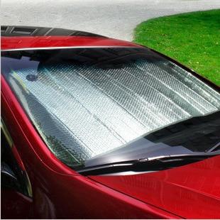 Alta calidad Al Por Mayor del coche bloqueador solar auto parasol sombrilla previenen toman el sol en la sombra 70 CM x 140 Cm freeshipping