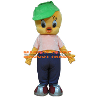 Newest Lovely Tweety Bird Mascot Costume Cartoon Costumes With Free Shipping