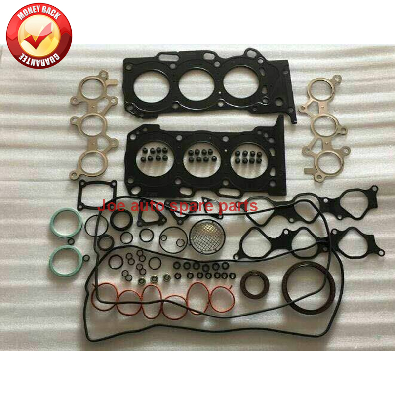 4GR 4GRFSE Engine Full gasket set kit for Toyota Crown Royal Mark X <font><b>Lexus</b></font> GS <font><b>IS</b></font> <font><b>250</b></font> 250C 2499cc 2.5L 2003- image