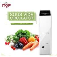 ITOP Электрический Sous Vide использовать с вакуумным упаковщиком Кук вакуумной упаковки еды термопогружной циркулятор