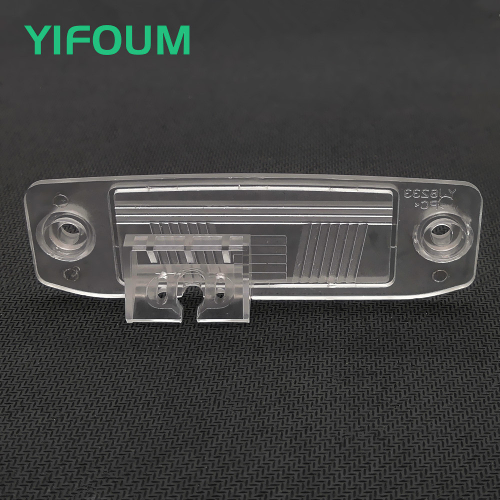 YIFOUM Car Rear View Camera Bracket License Plate Lights For Kia K3 Forte Ceed Rondo Cerato Carens Borrego Sorento Sportage R