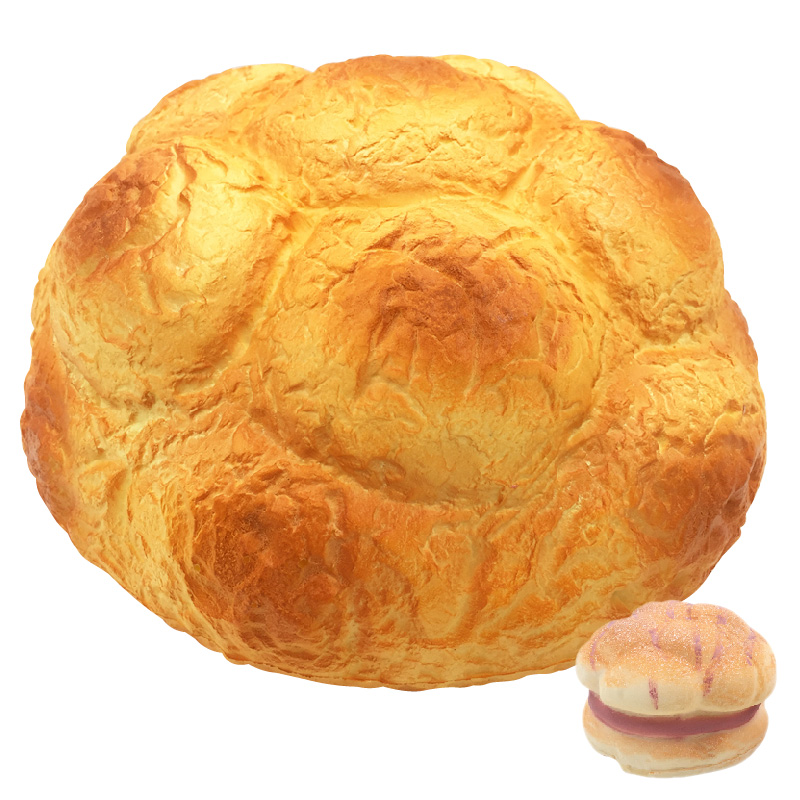 Giant 25cm Scented Cream Puff Squishy Super Slow Rising Straps Soft Squeeze Simulate Bread Cake Gift Kid Fun Toy