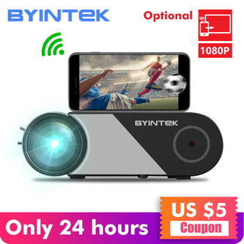 BYINTEK SKY K9 720P 1080P LED Portable Micro Home Theater HD Mini Projector(Optional Multi-Screen For Iphone Ipad Phone Tablet)