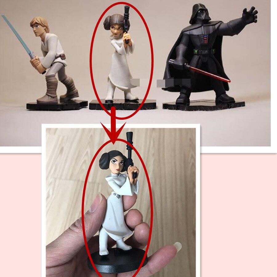 բարձրորակ Star Wars ֆիգուր խաղալիքներ Darth - Խաղային արձանիկներ - Լուսանկար 2