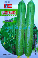 1Pack Long Loofah Seeds Vegetable Luffa Cylindrica Green Vegetable Seeds Home Garden DIY Plants Original Packing Free Shipping