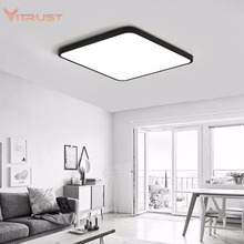 Ultra-thin LED Ceiling Light Nordic living room ceiling light fixture Creative lamp for bedroom AC110-240V