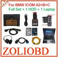 2017 Newest sale V2016.12 HDD icom A2+B+C for BMW Auto Diagnostic & Programming scanner + laptop with engineers model icom a2