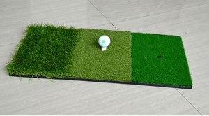 Image 4 - Fungreen Golf Đánh Mat 3 Cỏ Với Cao Su Thun Giá Đỡ Tập Đánh Golf Trợ Ngoài Trời Trong Nhà Trị Sân Cỏ Golf Đánh cỏ