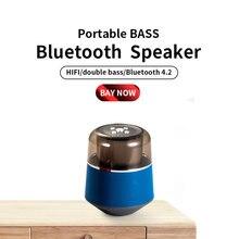 A18 authentic bluetooth speaker Outdoor Portable  Wireless Column Loudspeaker 6D Stereo Music Surround Support TF Card FM Radio цена в Москве и Питере
