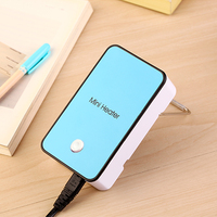 Practiced Portable MINI Heater Hand Electric Air Warmer Heating Winter Keep Warm Desk Fan For Office