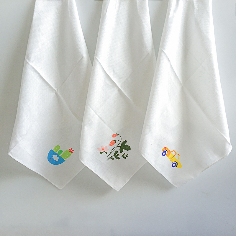 a9990e892de2 Baby Hand Towel Infant Cotton Muslin Squares Gauze Towels Newborn ...