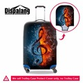 Dispalang fashion musical note print 18-30 inch suitcase protective dust cover stretch luggage cover travel trolley case cover