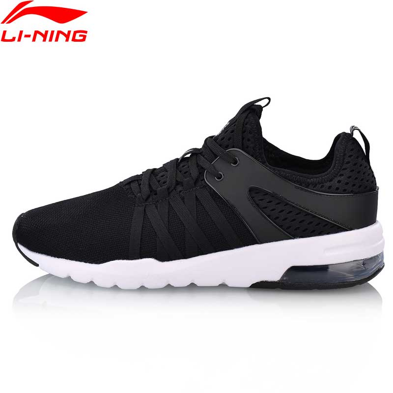 Li-ning hommes bulle UP classique marche chaussures coussin respirant doublure confort Fitness Sport chaussures baskets AGCN107 YXB160
