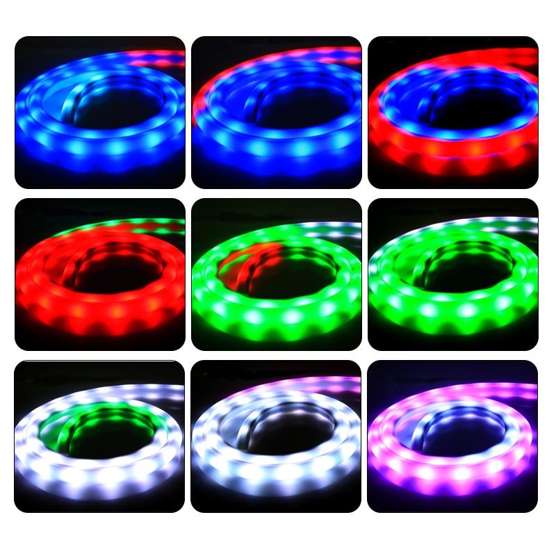 WS2811 10IC 30led pelangi tiub putih fleksibel yang diketuai jalur - Pencahayaan perayaan - Foto 3