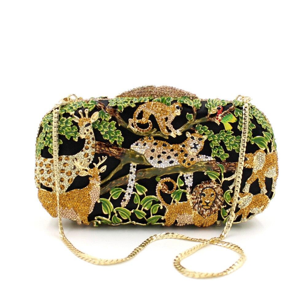 BL017 Luxury diamante evening bags octagon colorful clutch bags women party purse bags crystal sacoche pochette handbags
