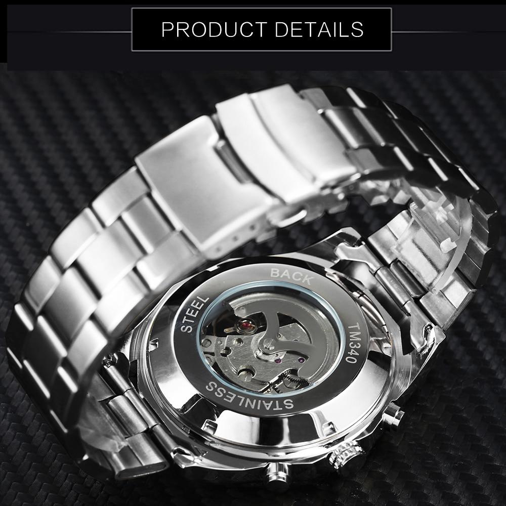 HTB19Yqzayb.BuNjt jDq6zOzpXa4 WINNER New Fashion Mechanical Watch Men Skull Design Top Brand Luxury Golden Stainless Steel Strap Skeleton Man Auto Wrist Watch