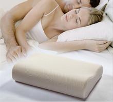 Memory foam pillow care new Soft Massage Orthopedic Latex Neck Pillow Fiber Slow Rebound Memory Foam Pillow Cervical Health Care