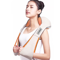 Massage cape electric massager Shawl Shiatsu Cervical Infrared heating body Massager for back neck massage tools for back