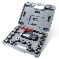 17 Uds NT40-OZ25-M16 pinza de fresado de precisión juego de portaherramientas 7:24/ISO40 con llave CNC herramientas de torno de fresado