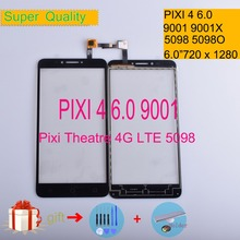 For Alcatel One Touch Pixi 4 6.0 OT9001 9001 9001X OT-9001 5098 Screen Panel Sensor Digitizer Front Glass Touchscreen