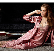 Women's Spring & Autumn Silk Satin