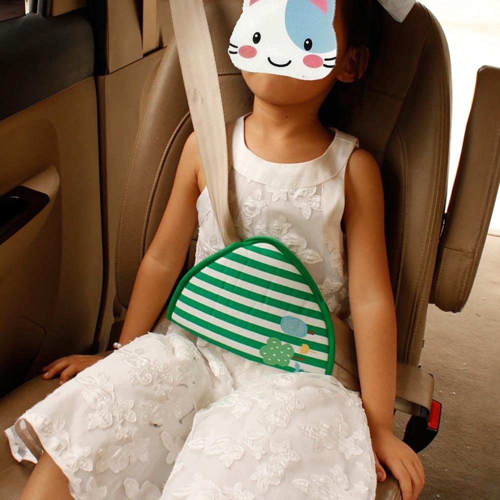 Safety Belt Cartoon Child Seat belt adjuster Car Seat belt retainer Cotton Car Styling Car Seat Cushion Shoulder Seat Belt Cover