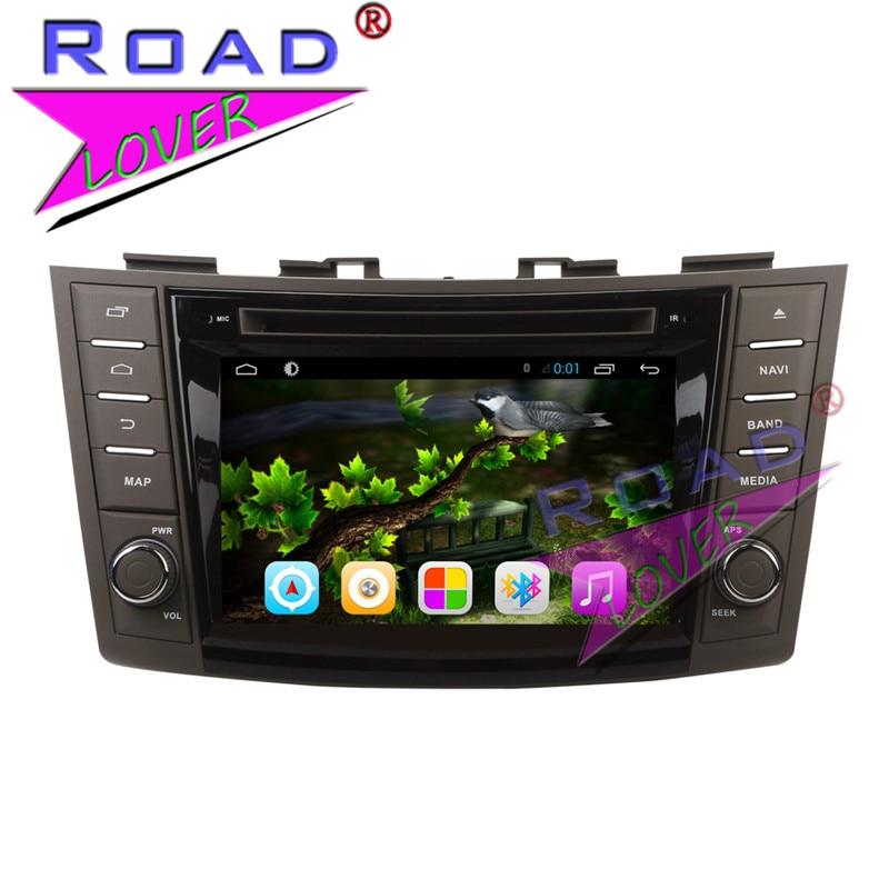 TOPNAVI 2G 32GB Quad Core Android 6 0 Car Multimedia DVD Player Audio For Suzuki Swift
