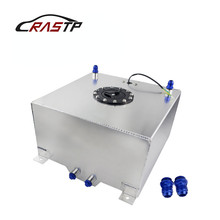 RASTP-High Quality 40L Aluminum Fuel Surge Tank with Cap Cell Sensor Foam Inside RS-OCC023