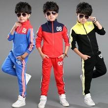 Children'S Clothing Sets Baby Boys Spring Suit Set Print Cotton Boys Tracksuits Kids Sports Suit Cotton Sweatshirts+Pants