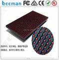 LED DISPLAY P10 LED 16x32 red color - LED Dot Matrix Module Display 5x8 Pixels Single Color and Dual Color panel sign board