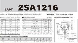 Image 5 - Diodo de alta potência triode 2sc2922 2sa1216 sanken amplificador áudio tubo novo ponto garantia qualidade amplificador alta fidelidade