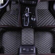Обновление кожи коврики для Mazda 3 Mazda3 4-DR седан- пользовательские подушечки автомобильных ковров автотентами