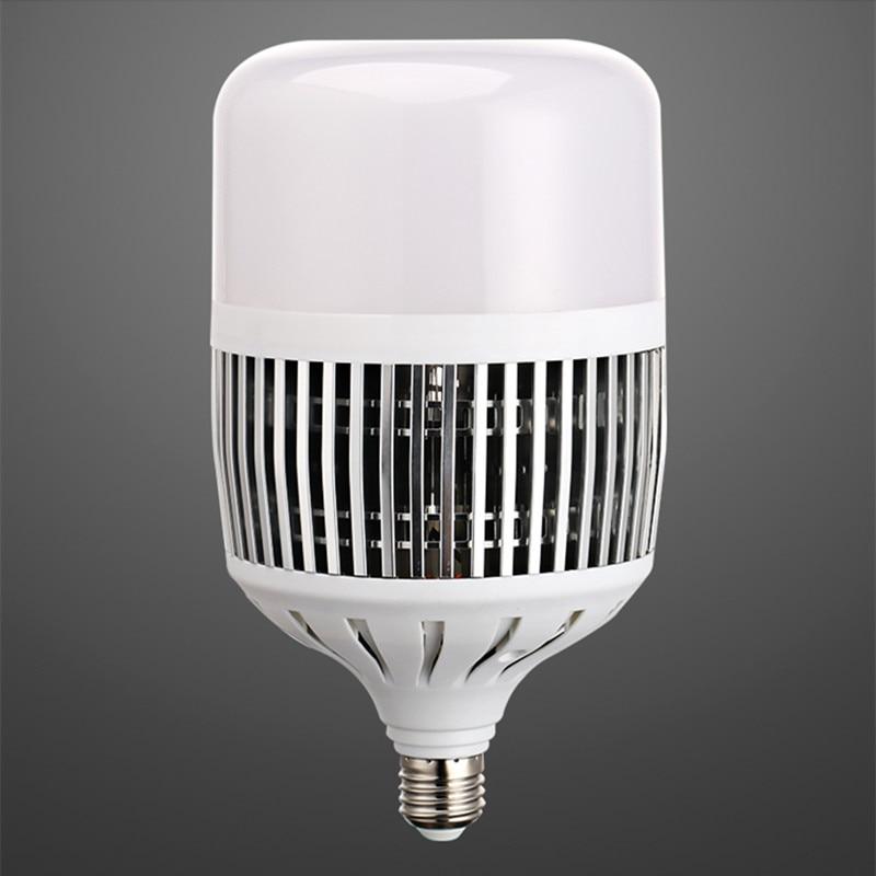 Сверхъяркая светодиодная шаровая лампа высокой мощности e27 E40 50 Вт 100 Вт 200 Вт 220 В, энергосберегающая шаровая лампа, домашнее заводское напол...