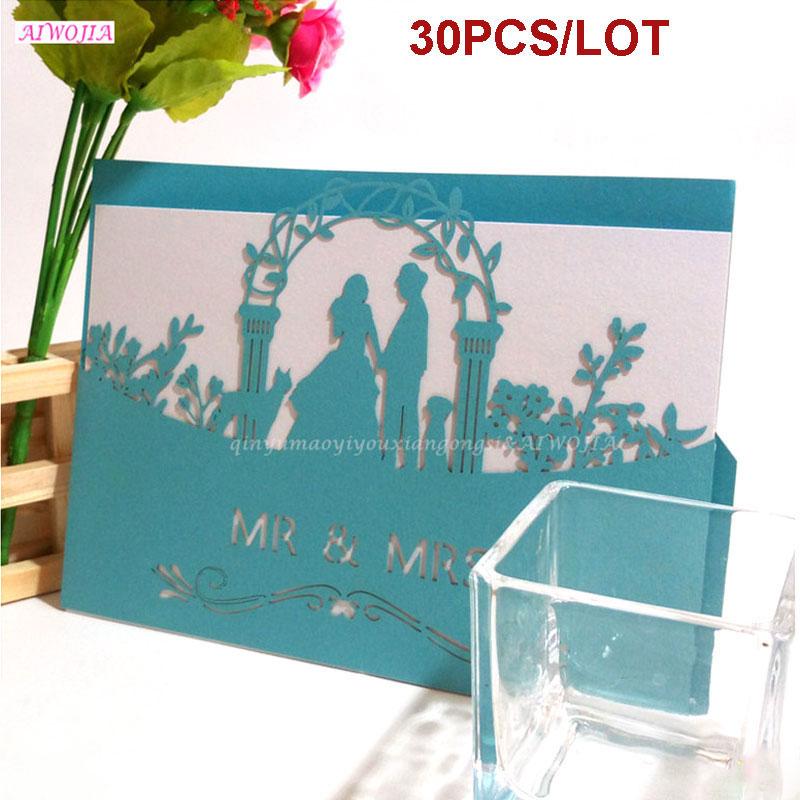 30 stücke Hochzeit Einladungen Geburtstag Gruß Postkarten Geschenk ...