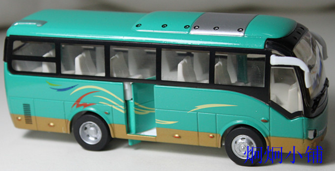 Free shipping Alloy car model toy school bus small bus acoustooptical open the door