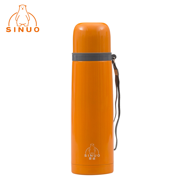 Brand New Sinuo 500ml Stainless Steel Thermo Vacuum Flask Thermoses Thermal Coffee Sport Termos Tumbler NB