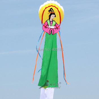 Free Shipping 6m China Wind ChangE Power Software Kite Factory Outlet