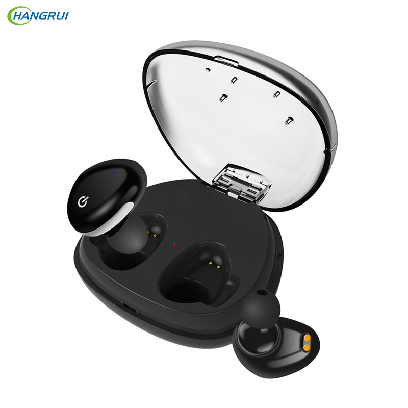HANGRUI TWS i8s Bluetooth Earphones Wireless in-ear Stereo earbuds Earphone with Charging Box Earbuds for Smartphone auriculares original senfer dt2 ie800 dynamic with 2ba hybrid drive in ear earphone ceramic hifi earphone earbuds with mmcx interface