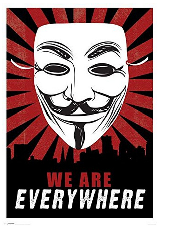 2014 new guy fawkes niice home decor movie poster custndomized fashion classic 30x90cm wall sticker free