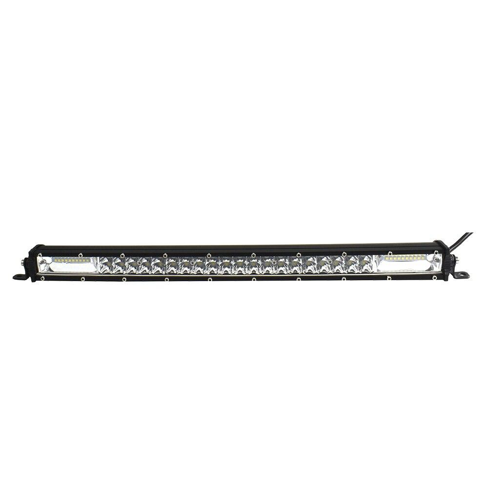 Sporting Ecahayaku Straight Slim 20 Inch Led Licht Bar 12 V 180 W 6000 K Wit Waterdicht Voor Suv 4x4 Atv Offroad Vrachtwagens Mid-netto Bagage Rack Handig Om Te Koken