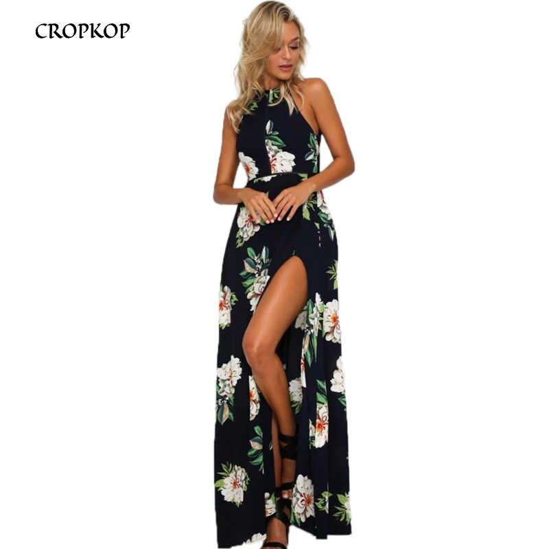 efc2fbac4f27c Detail Feedback Questions about Fashion Floral Print Halter Chiffon ...