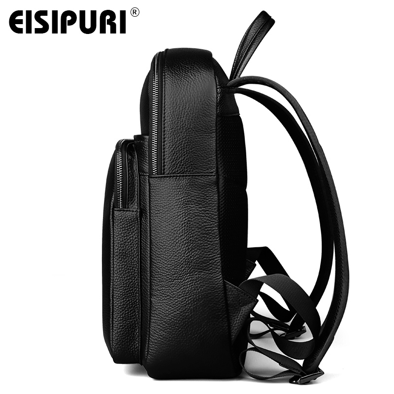9efce1312e BUG Genuine Leather New Fashion Men Luxury Male Bag High Quality Waterproof  Laptop Messenger Travel Backpack WOMEN School Bag-in Backpacks from Luggage  ...