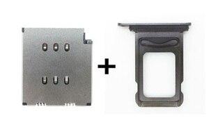 Image 1 - 10 пара/лот считыватель sim карт Dua + двойной лоток для sim карт для iPhone XSMAX XS Max