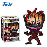 FUNKO POP Venom! Marvel Venomized Iron Man Theme Boy Birthday Anniversary Vinyl Doll Gift Vinyl Action&Toy Figures For Friends