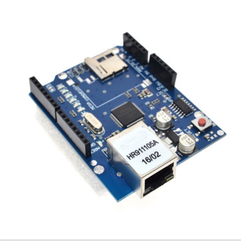 UNO Shield Ethernet Shield W5100 R3 UNO Mega 2560 1280 328 UNR R3 only W5100 Development board For Arduino ethernet w5100 r3 shield network board supports mega tf rj 45 works with official arduino board