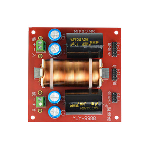 Image 3 - AIYIMA 350W אודיו רמקול משולב מפריד מוצלב מסנן אמצע בס בס סאב תדר מחיצת DIY 4 8OHM