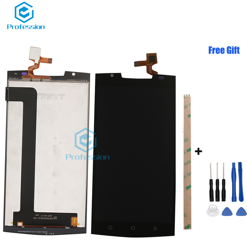 5.5 Pour D'origine Oukitel K10000 Pro Écran LCD Affichage et Écran Tactile Digitizer Assemblée Rempl ciment Outils + Adhésif stock